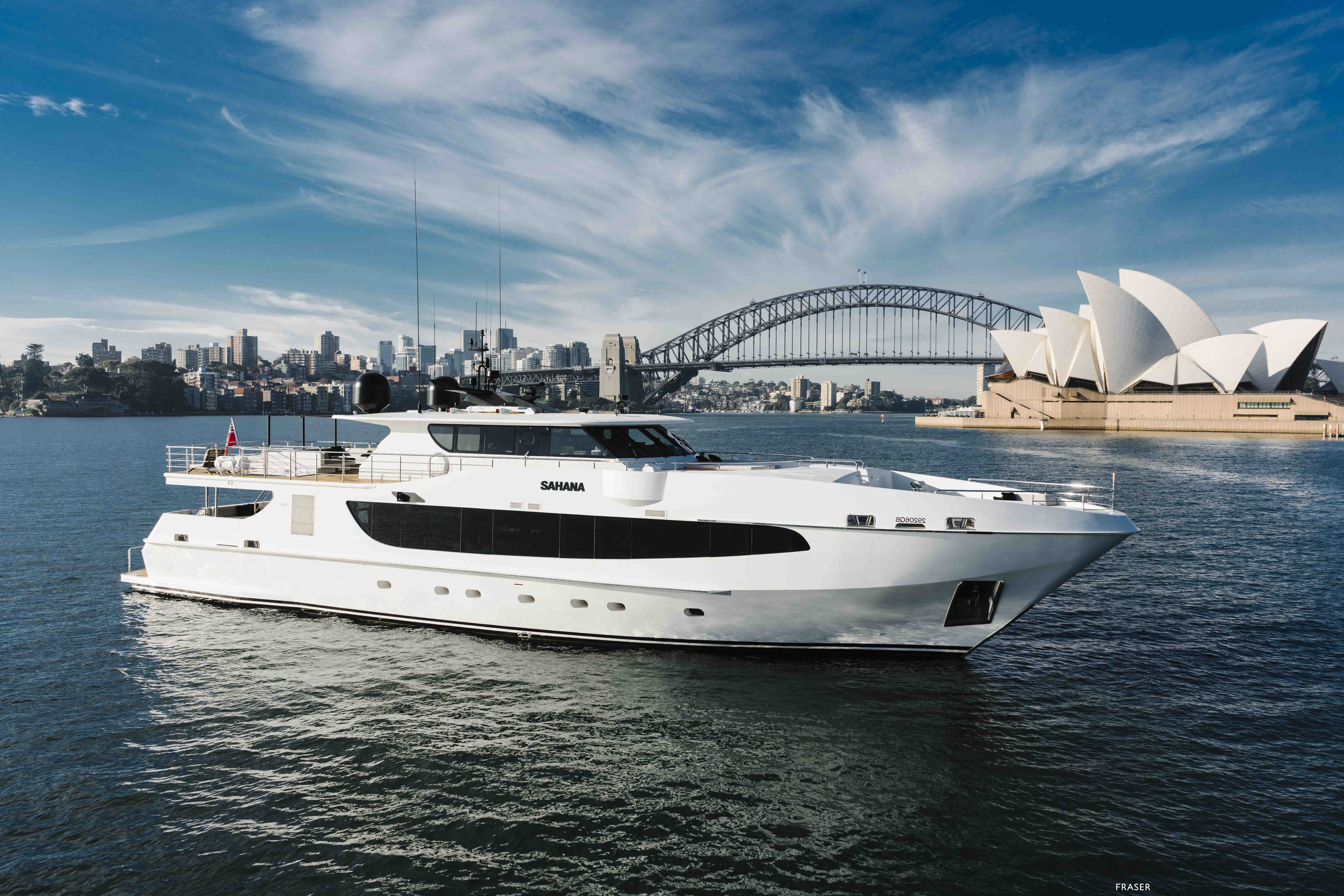 SAHANA yacht