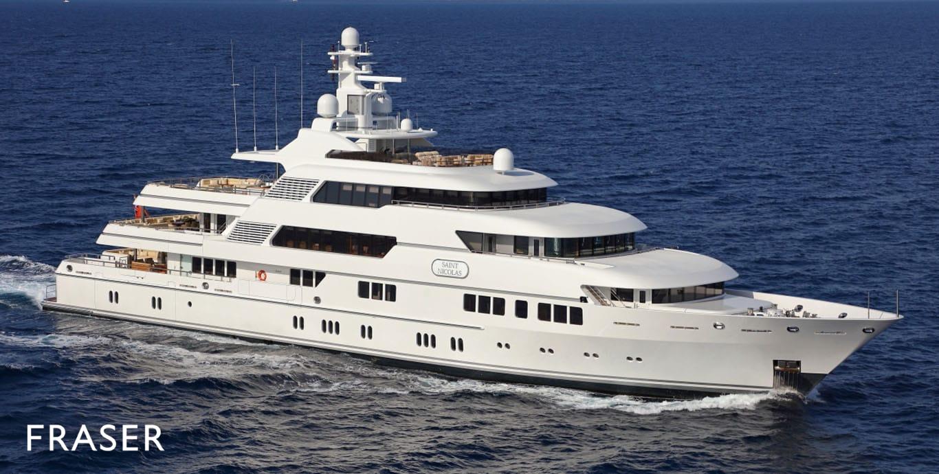SAINT NICOLAS yacht