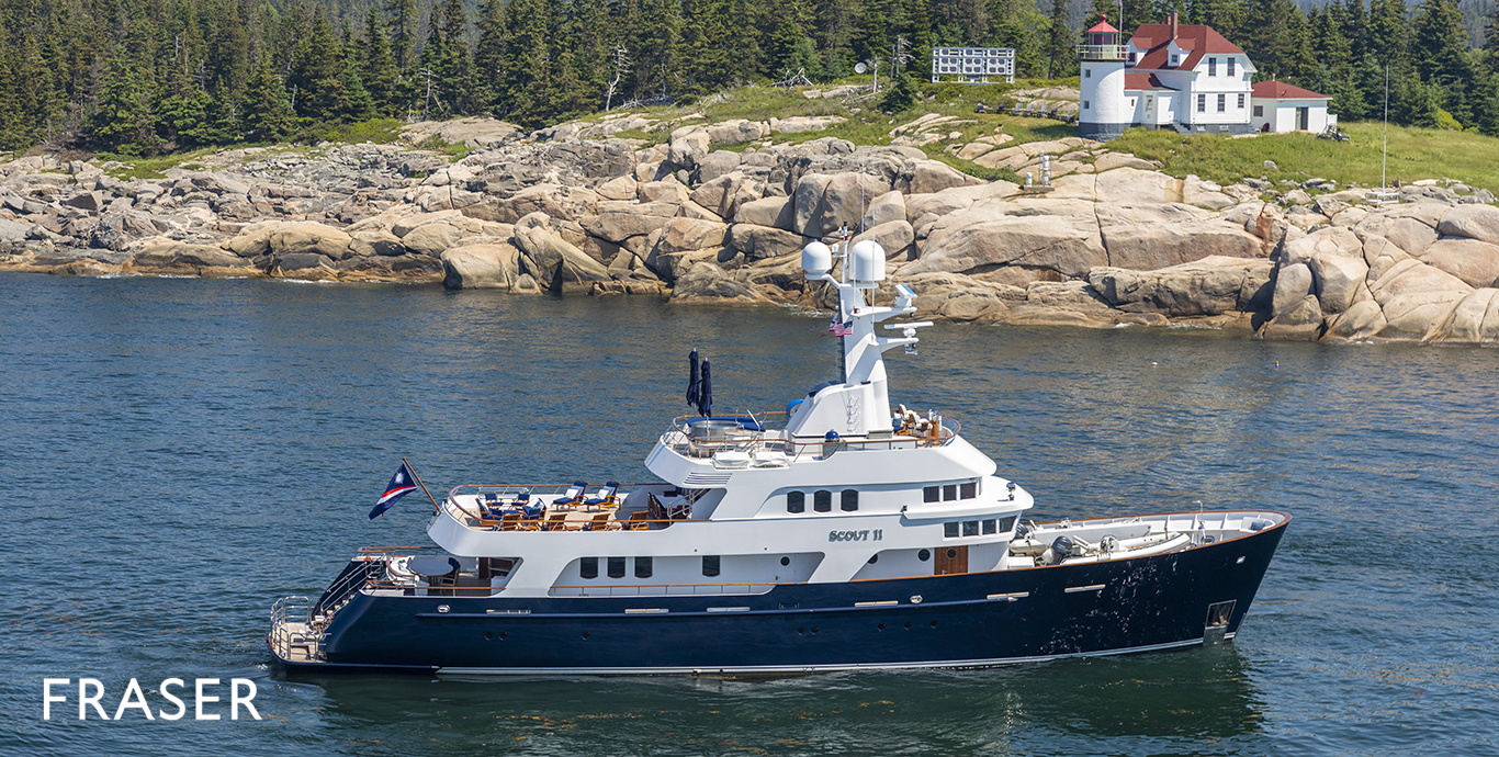 SCOUT II Yacht for Sale | Fraser