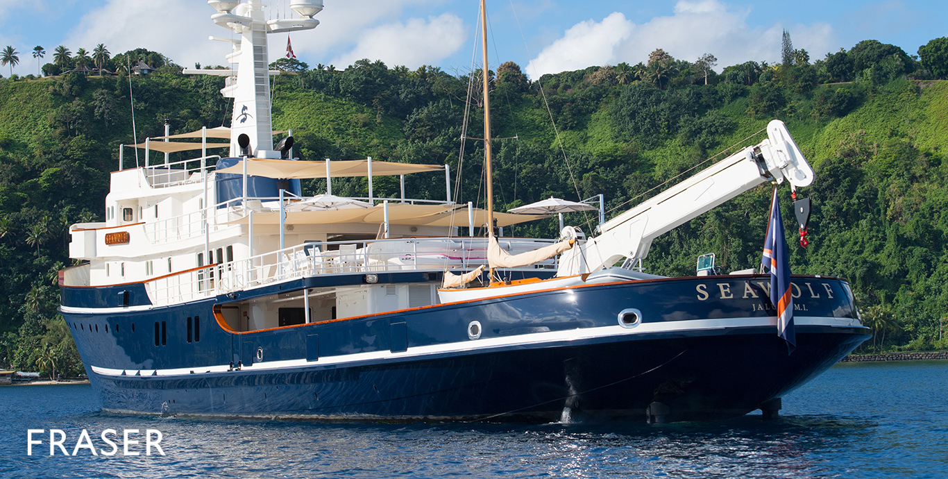 SEAWOLF Yacht for Sale   Fraser