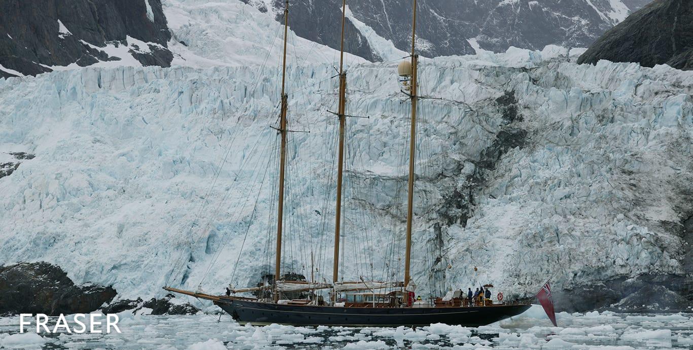 SHENANDOAH OF SARK yacht