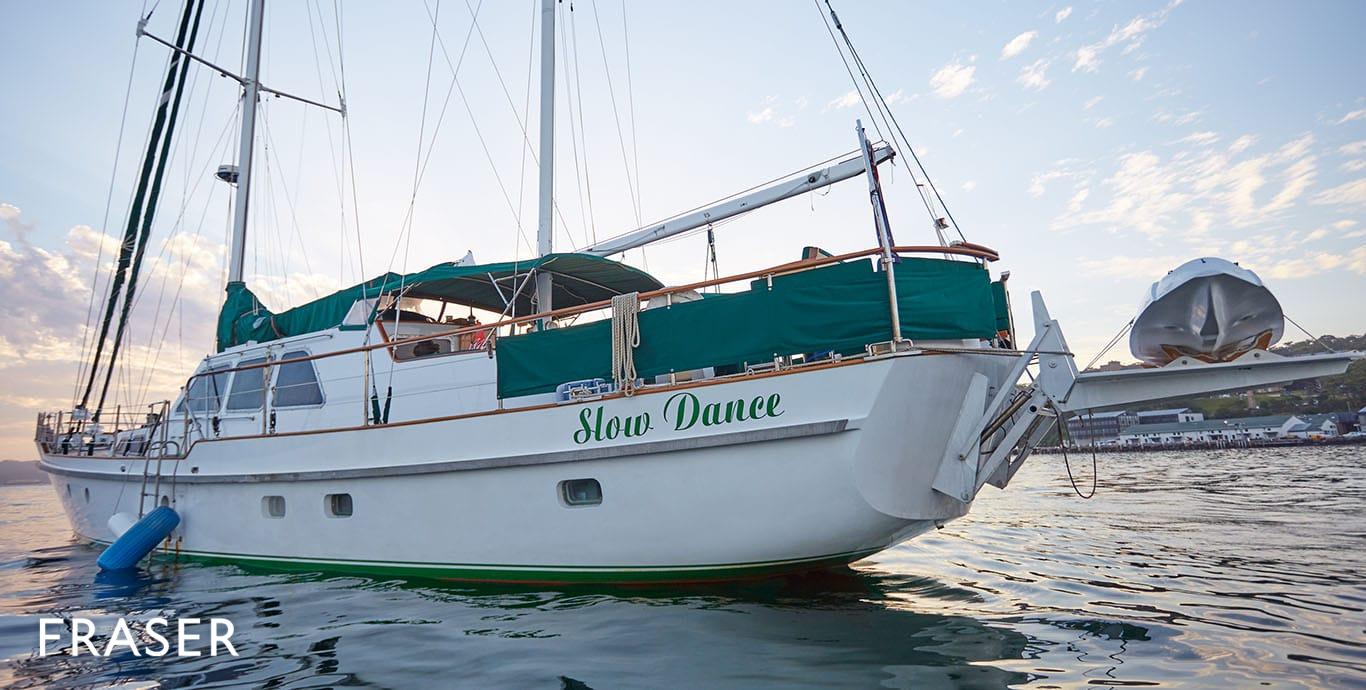 SLOW DANCE yacht