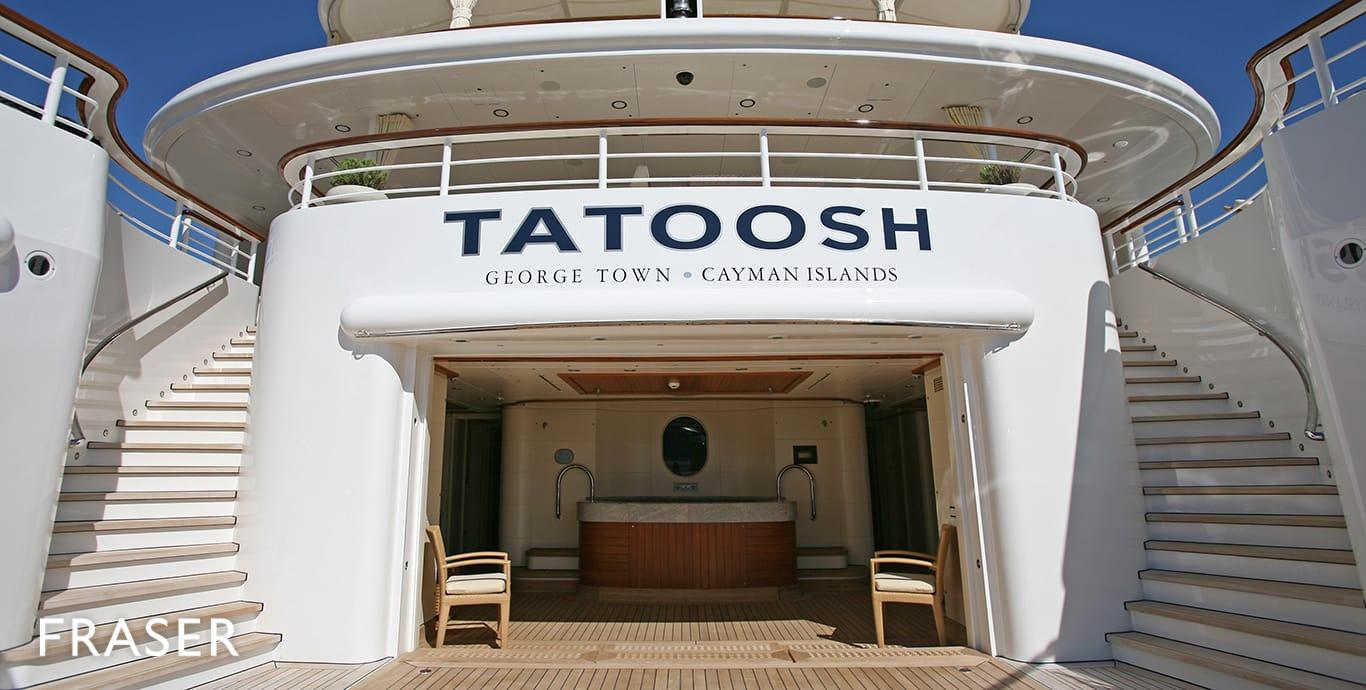 TATOOSH yacht