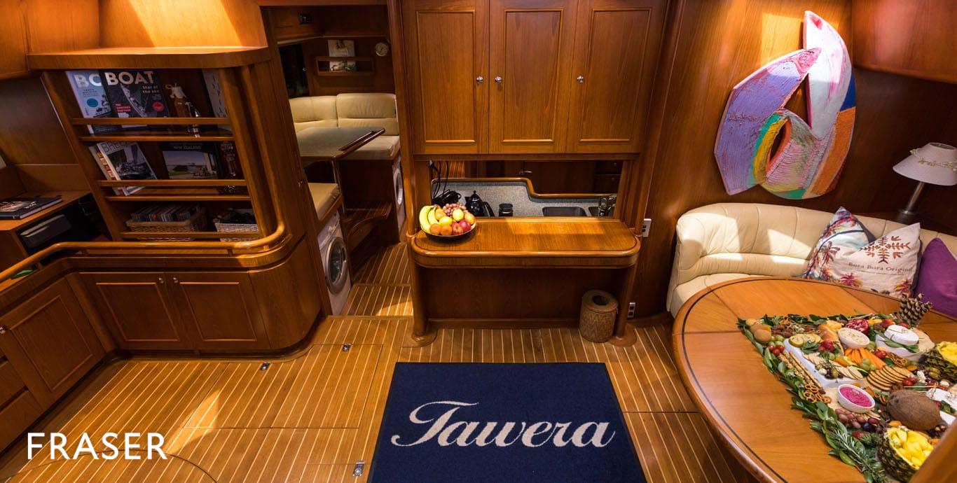 TAWERA yacht