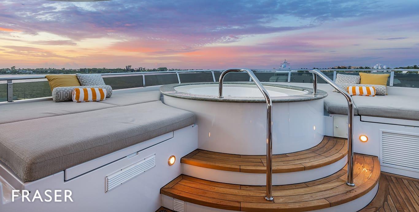 THREE FORKS yacht