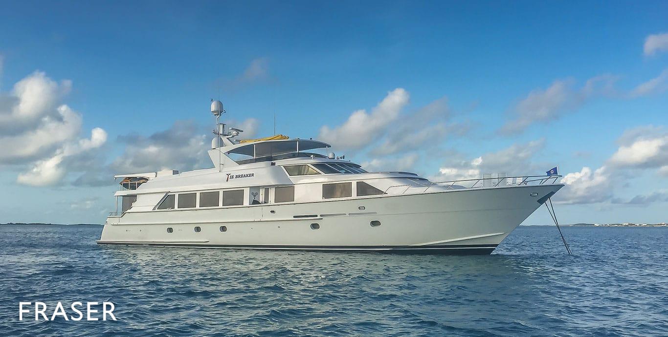 MEMORYMAKER Yacht   Fraser